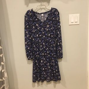 NWOT Old navy blue peasant dress